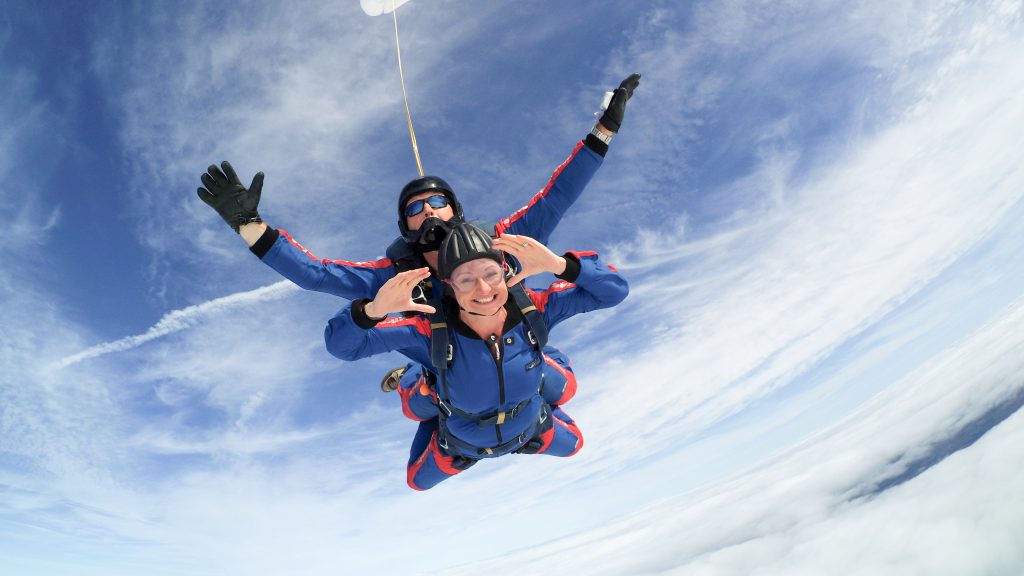 Tandem Skydiving Explained | Skydive Tilstock Freefall Club