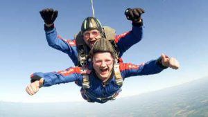 what's it like to skydive