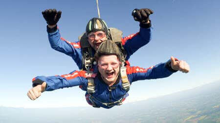 What's It Like To Skydive?
