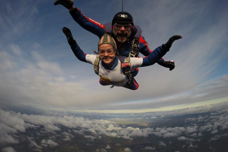 Tandem Skydiving near Liverpool