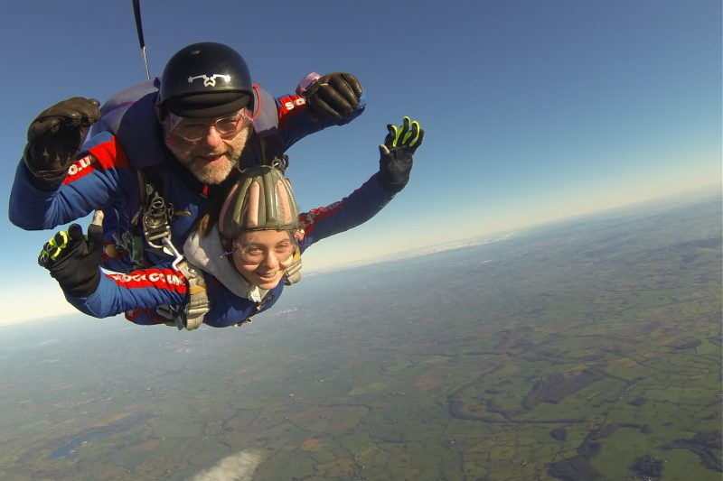 Skydiving near Manchester