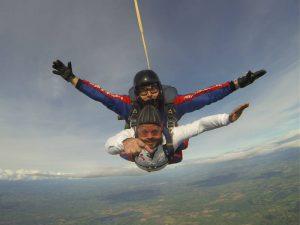 Charity Tandem Skydiver