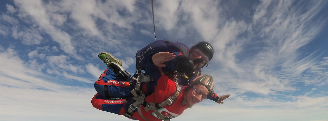 Skydiving -Tandem and Solo Parachute Training Courses | Skydive Tilstock