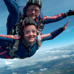 Tandem Skydiving in the midlands
