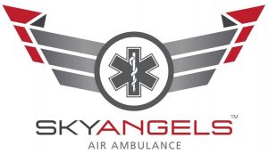 sky angels air ambulance logo